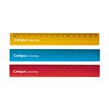 Regla campus aluminio 10cm colores M05194