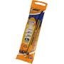 Bolígrafo bic cristal fine azul 4 unidades 021717