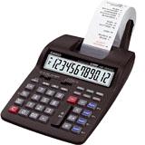 Casio calculadora hr150 rotllo
