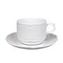 Augusta tassa cafè 12ml amb plat blanc