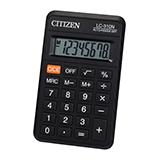 OCalciladora citizen lc-310.