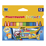 Colores plastidecor peques 12 unidades 122311