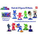 Masks pak 5 figuras 24580.