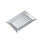 Safata rectangular color plata 1043
