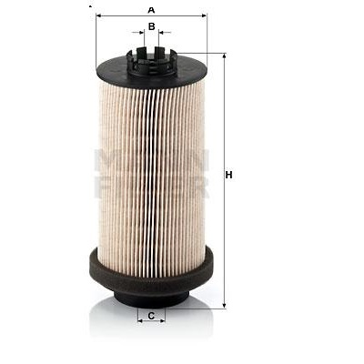 Filtre combustible PU 999/1x (Actros) Mann