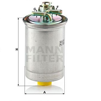 Filtre combustible WK 823 Mann