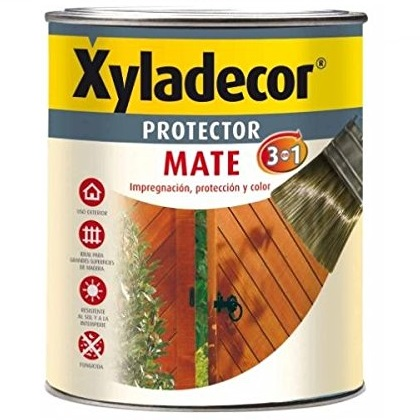 Xyladecor protec. mate caoba 375ml 3/1 5087312