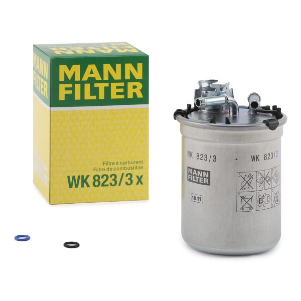 Filtre combustible WK 823/3x Mann