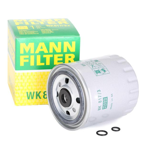 Filtre combustible WK 817/3x Mann