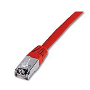Latiguillo FTP LSZH Cat.6 Rojo 1m