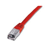 Latiguillo FTP LSZH Cat.6 Rojo 2m