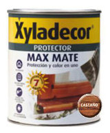Xyladecor protec. mate castany 750ml 3/1 5087308