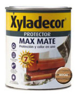 Xyladecor protec. mate nogal 750ml 3/1 5088062