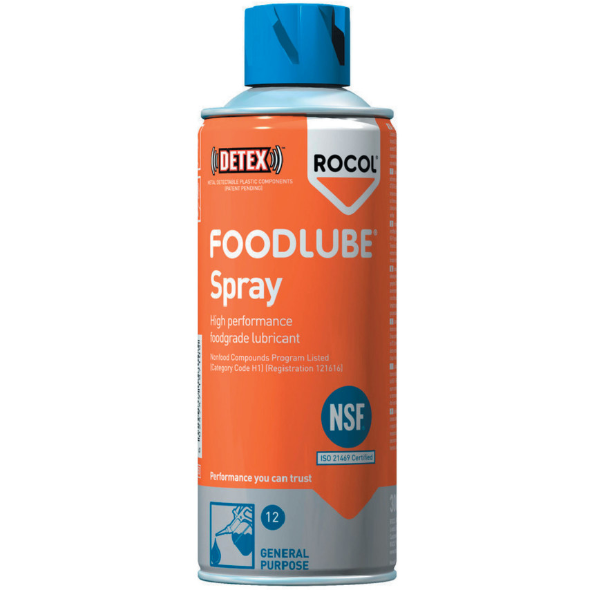 Spray lubricante atóxico y anticorrosión 300ml Krafft