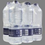 Agua paq. de 6 botellas