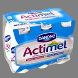 Actimel líquid Danone natural paq. 6 u. x 100 ml