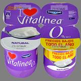 Iogurt vitalinea Danone natural paq. 4 u. x 125 g