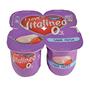 Iogurt vitalinea Danone sabor maduixa paq. 4 u. x 125 g