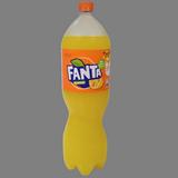 Fanta de taronja botella