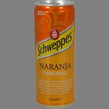 Schweppes taronja llauna