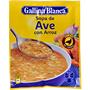 Sopa d'au amb arròs Gallina Blanca sobre