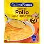 Sopa de pollastre amb fideus fins Gallina Blanca sobre