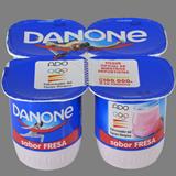 Iogurt maduixa Danone paq. 4 u. x 125 g