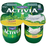 Iogurt soia Danone natural paq. 4 u. x 125 g