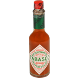 Salsa picant Tabasco vermell