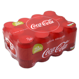 Coca Cola normal llauna paq. de 12 llaunes