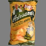 Patates fregides mediterrànies estil artesana Lay's oliva