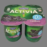 Iogurt activia desnatat Danone amb prunes
