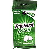 Xiclet clorofil·la pastilla Trident Fruit blister paq. 4 u.