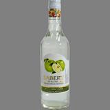 Licor sense alcohol de poma verda Sabery ampolla