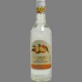 Licor sense alcohol de préssec Sabery ampolla