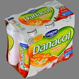Danacol beure Danone maduixa paq. 6 u. x 100 ml
