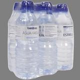 Agua mineral natural botella tapón sport paq. de 6 botellas