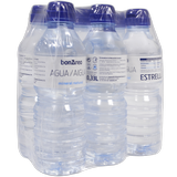 Aigua mineral natural ampolla tap sport pack de 6 botelles