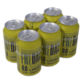 Cervesa llimona Free Damm paq. 6 llaunes