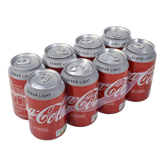 Coca cola light paq. 8 llaunes