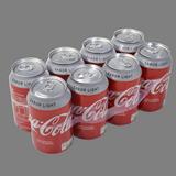 Coca Cola light paq. 8 latas