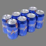 Aquarius isotònic taronja paq. 8 llaunes