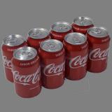 Coca Cola normal paq. de 8 latas