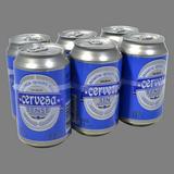 Cervesa bonÀrea sense alcohol 0,0% paq. 6 llaunes