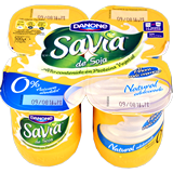 Iogurt savia Danone natural paq. 4 u. x 125 g