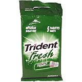 Xiclet clorofil·la Trident Fruit stick blister paq. 5 u.