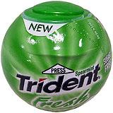 Xiclet menta Trident Sphere dragea bola plàstic