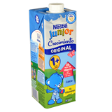 Leche crecimiento protección Nestlé junior