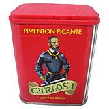 Pebre fumat picant Carlos I llauna
