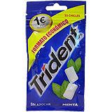 Xiclet menta Trident pastilles sense sucre paq. 30 u.